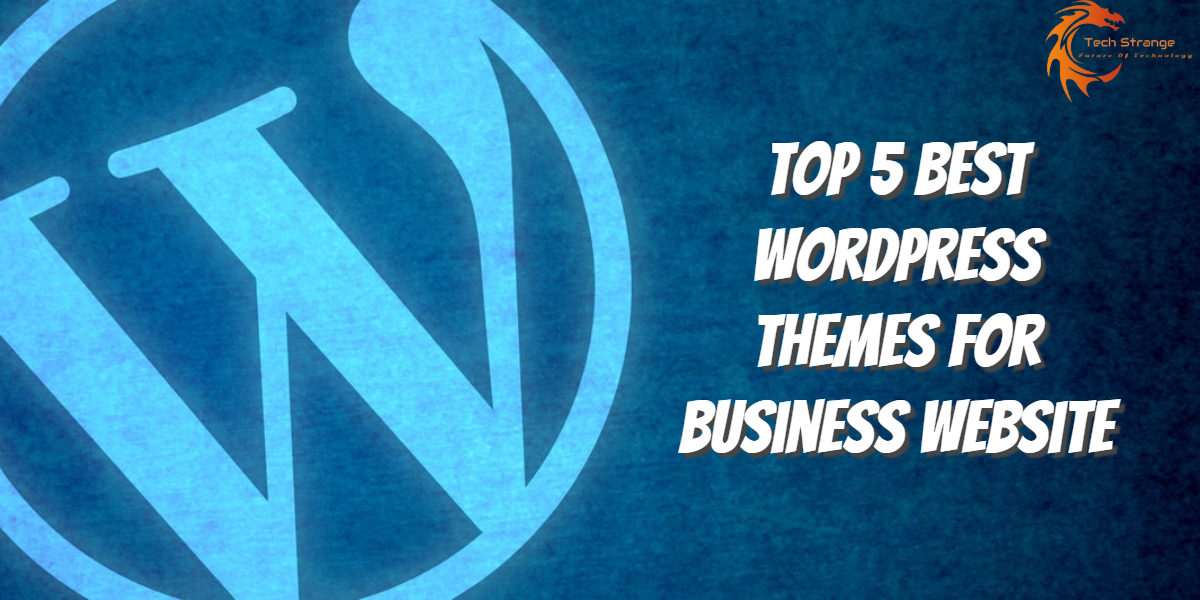 Top 5 best WordPress themes for business website